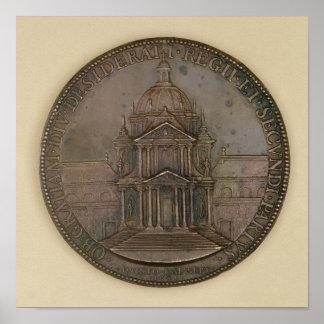 Medalla de la fundación de la Val-de-Tolerancia Póster
