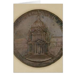 Medalla de la fundación de la Val-de-Tolerancia Tarjeta De Felicitación