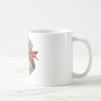 Medalla de la medalla del arte taza de café