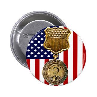 Medalla de Lincoln - botón Pin