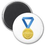 medalla de los ganadores del oro iman