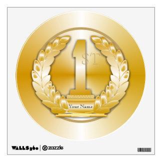 Medalla de oro vinilo decorativo