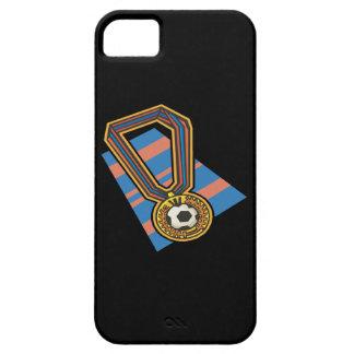 Medalla del fútbol funda para iPhone SE/5/5s
