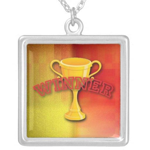 Medalla del ganador pendiente personalizado