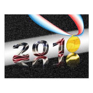 Medalla del oro de América Postal