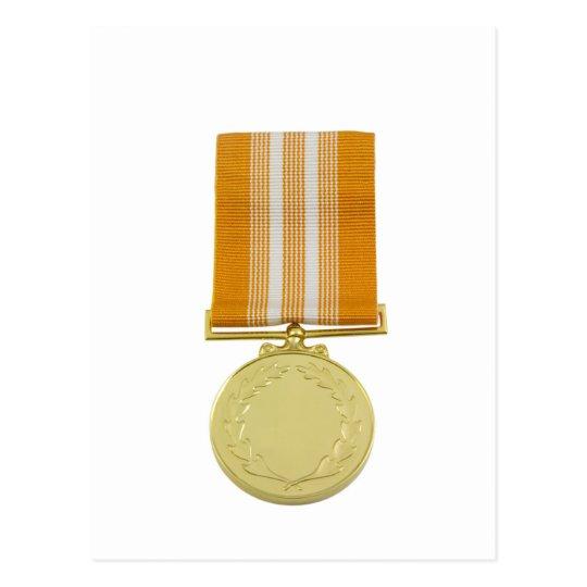 Medalla del premio postales