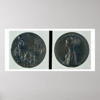 Medalla del retrato, Cecilia de representación anv Póster