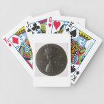 Medalla del retrato que representa Gianfrancesco G Baraja Cartas De Poker