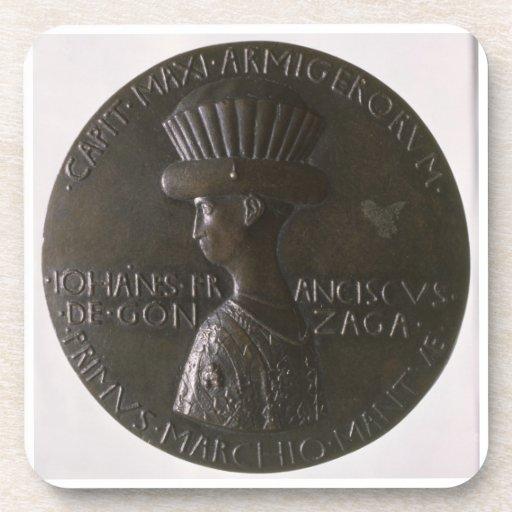 Medalla del retrato que representa Gianfrancesco G Posavasos De Bebida