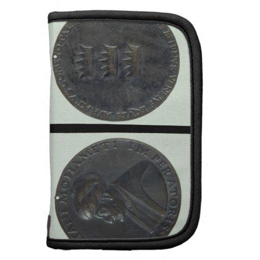Medalla del retrato, sultán de representación anve organizadores