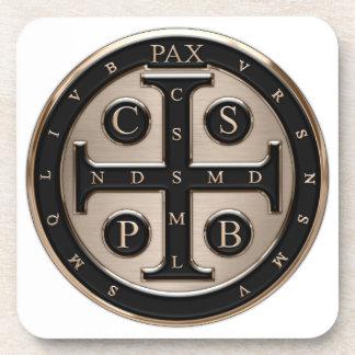 Medalla del St. Benedicto Posavasos