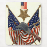 Medalla Eagle de la guerra civil de la unión de la Tapete De Raton