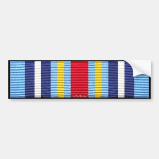 Medalla expedicionaria de la guerra contra el pegatina para auto