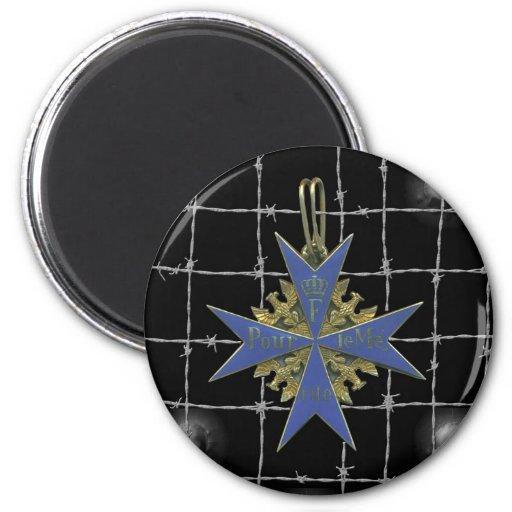 Medalla german Pour Le Merit Imán