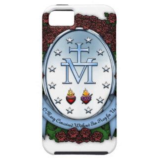 Medalla milagrosa 2 funda para iPhone SE/5/5s