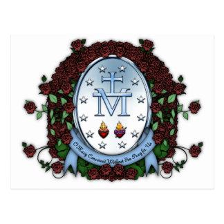 Medalla milagrosa 2 postales