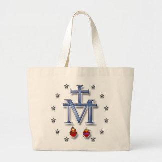 Medalla milagrosa bolsa tela grande
