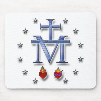 Medalla milagrosa alfombrilla de raton
