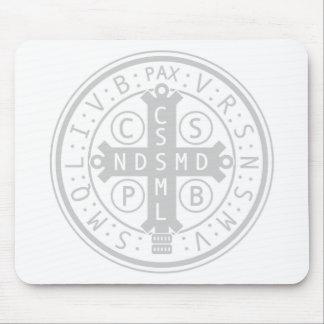 Medalla Mousepad del St. Benedicto