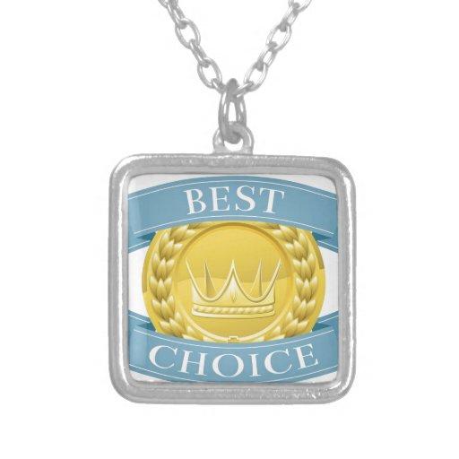Medalla o insignia del premio collar personalizado