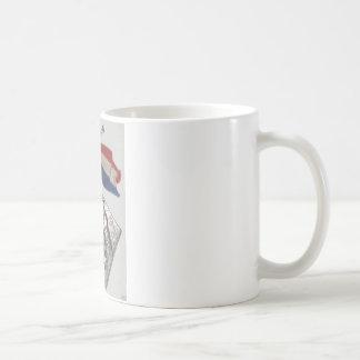 """Medalla patriótica de la guerra - Francia "" Tazas De Café"