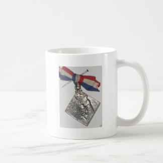 """Medalla patriótica de la guerra - Francia "" Taza"