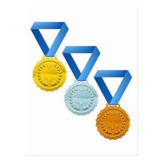 Medallas Postales