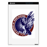 Medallion Blue w Red Trim.jpg Decals For The iPad