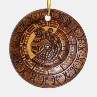 Medallion Coin Ornament, Native American Indian
