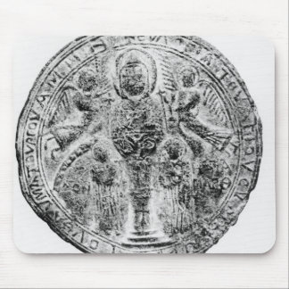 Medallion decorated in the cloisonne technique mouse pad