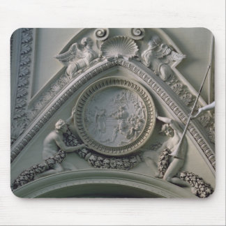 Medallion depicting Emperor Constantine Mouse Pad