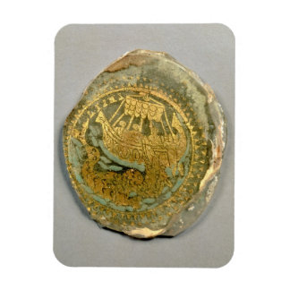 Medallion depicting Jonah and the whale, Roman, 4t Magnet