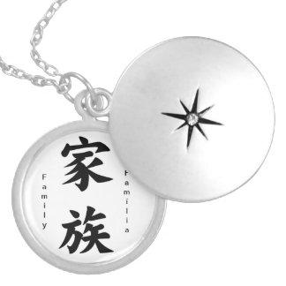 """Medallion """"Family """" Locket"""