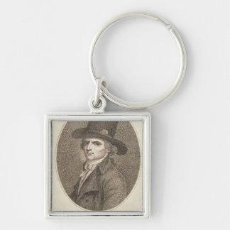 Medallion Portrait of Francois Noel Keychain