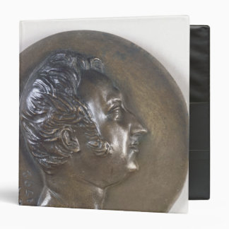 Medallion portrait of Gioacchino Rossini  1829 Binder