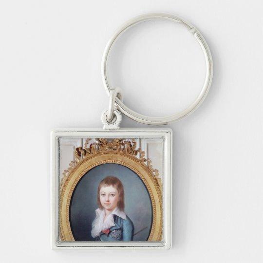 Medallion Portrait of Louis-Charles Keychain