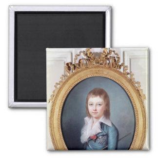 Medallion Portrait of Louis-Charles Magnet