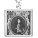 Medallion Portrait of Louis XIV Necklace