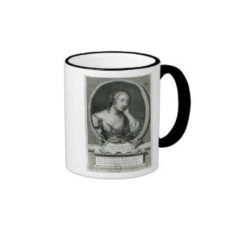 Medallion portrait of Madame de La Fayette Ringer Mug