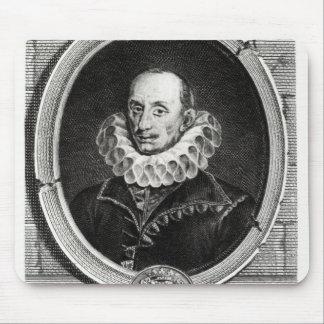 Medallion portrait of Pierre de Bourdeille Mouse Pad