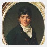 medallion Portrait of the Comte Esteve, 1804 Sticker