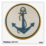 Medallion Round Dotted Anchor Mosaic Wall Sticker