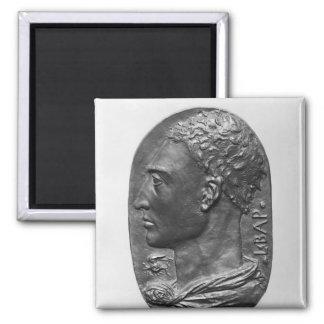 Medallion Self Portrait Magnet