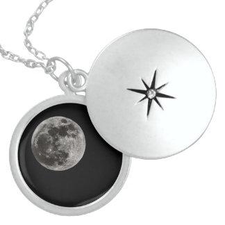 Medallion the moon locket