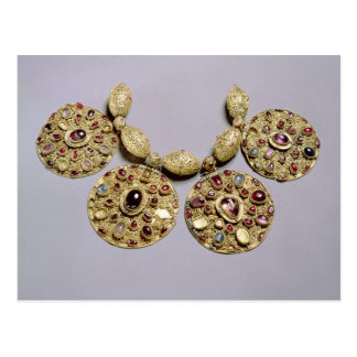Medallions from 'Barmy Collar' Post Card