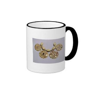 Medallions from 'Barmy Collar' Ringer Coffee Mug