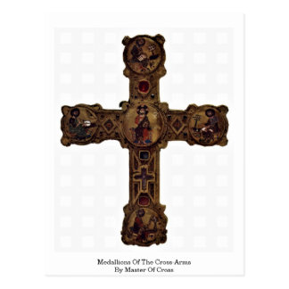 Medallions Of The Cross-Arms By Master Of Cross Postcard