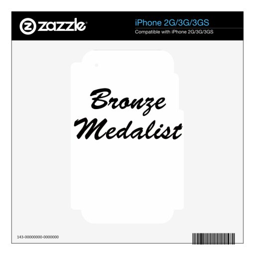 Medallista de bronce iPhone 2G skin