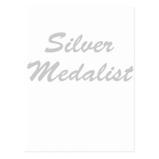 Medallista de plata postal