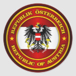 Medallón de Austria Etiquetas Redondas